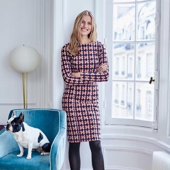 876ca43cfc Boden Dresses   Skirts - Boden Priscilla Jacquard Midi Dress